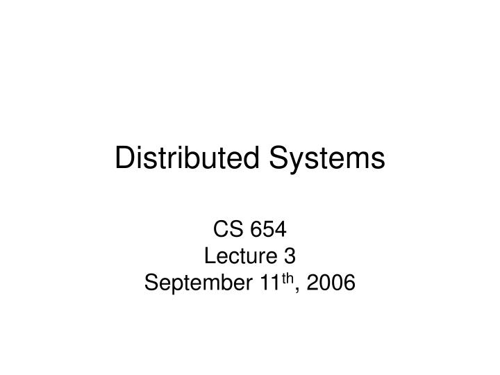 distributed systems n.