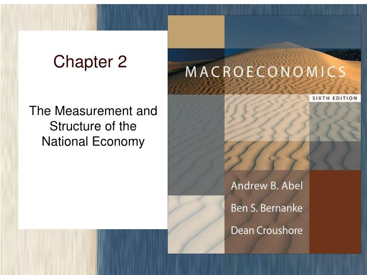 the measurement and structure of the national economy n.