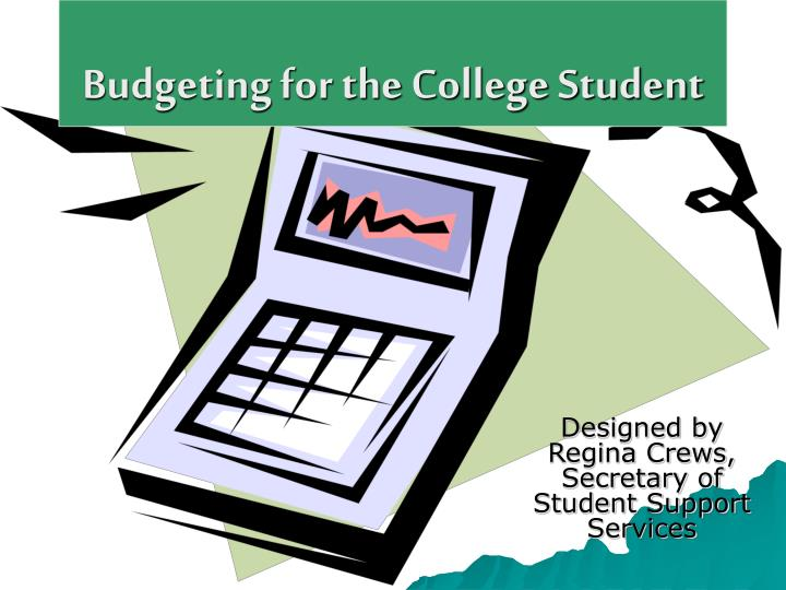 budgeting for the college student n.