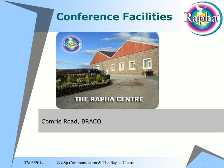 conference facilities n.