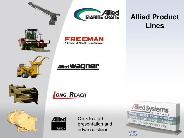 allied product lines n.