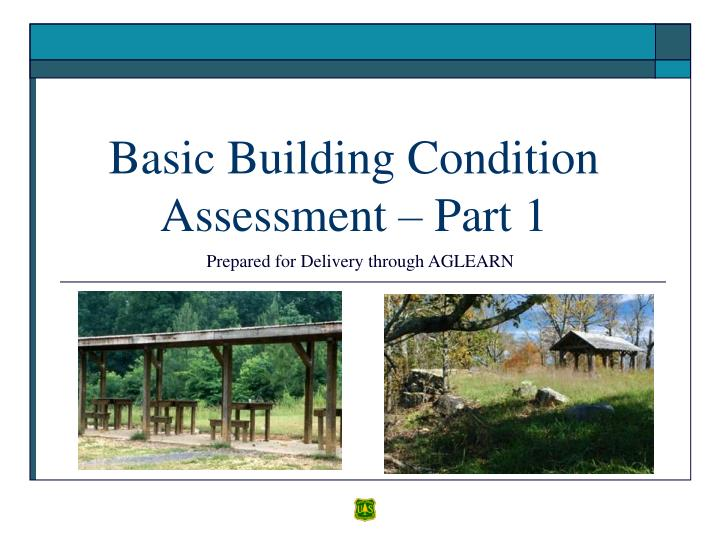 basic building condition assessment part 1 n.