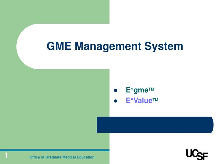 gme management system n.