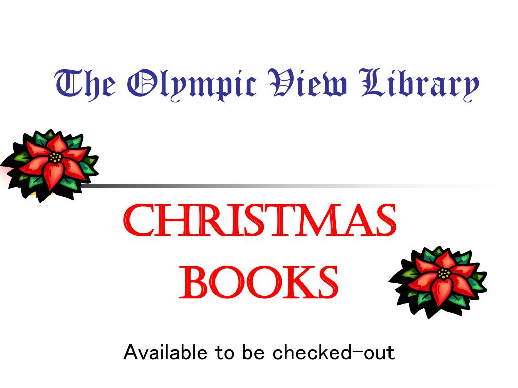 the olympic view library l.