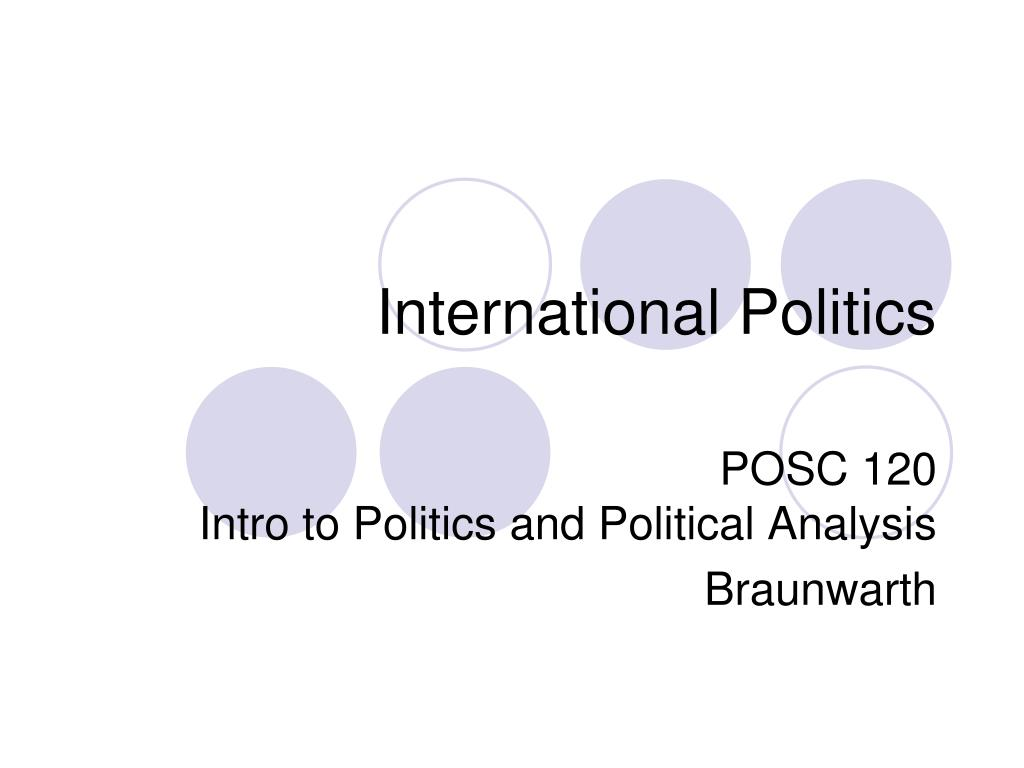 international politics l.