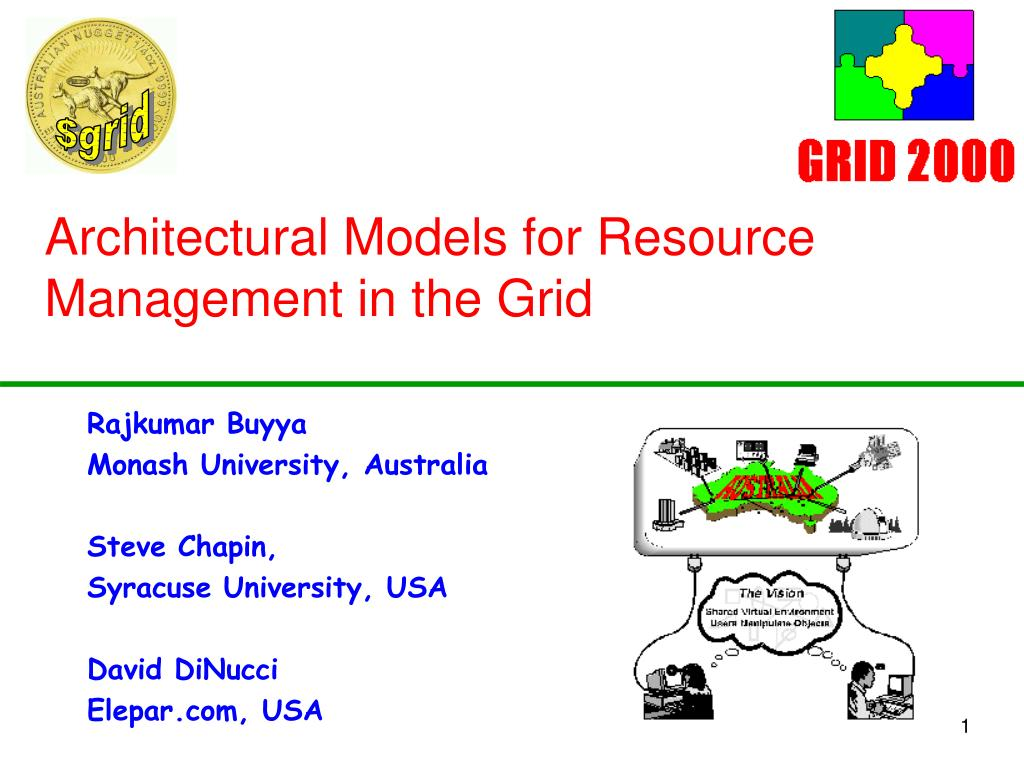 architectural models for resource management in the grid l.