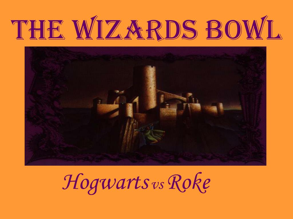 the wizards bowl l.