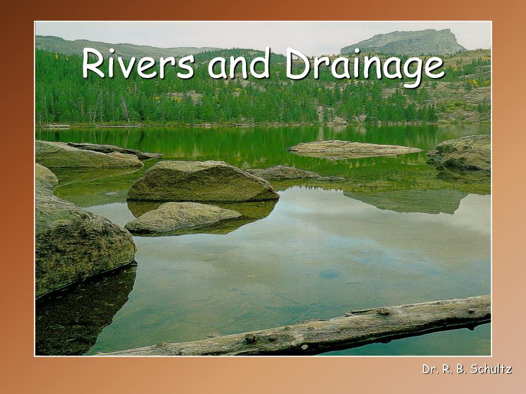 rivers and drainage l.