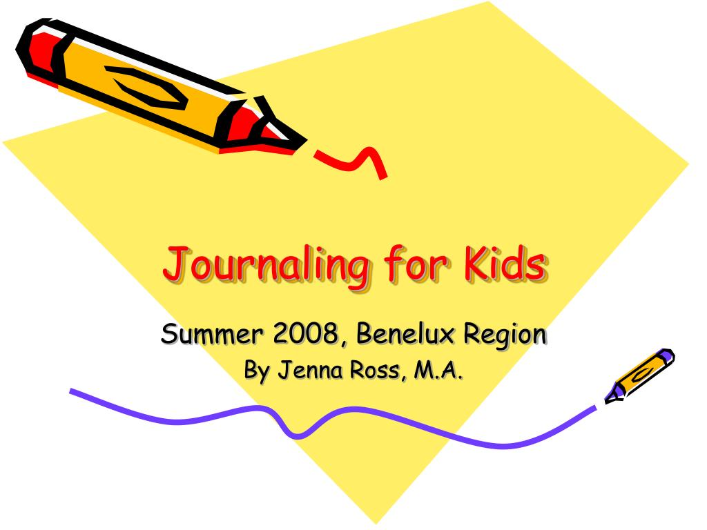 journaling for kids l.