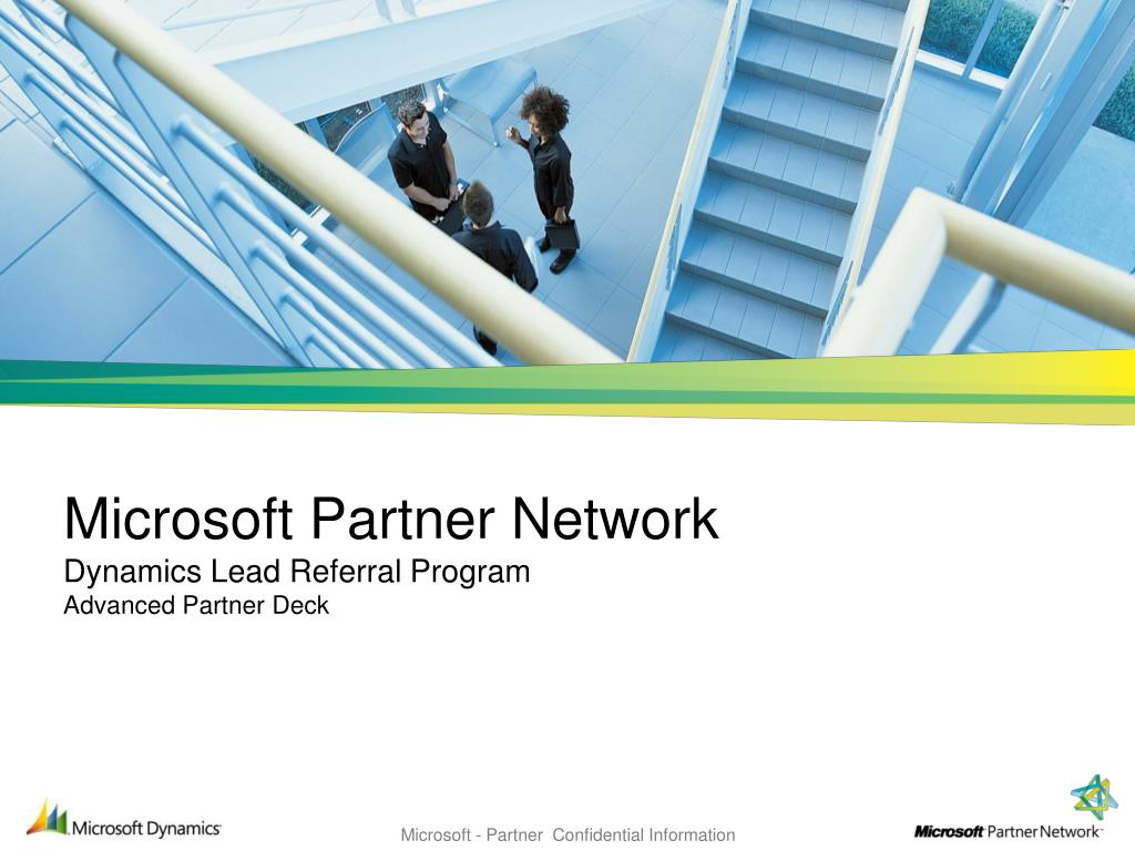 microsoft partner network dynamics lead referral program advanced partner deck l.