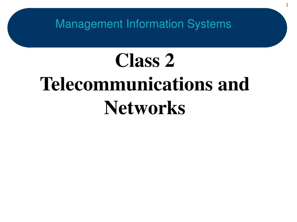 management information systems l.