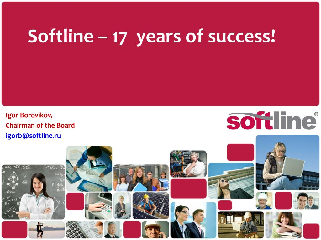 softline 17 years of success l.