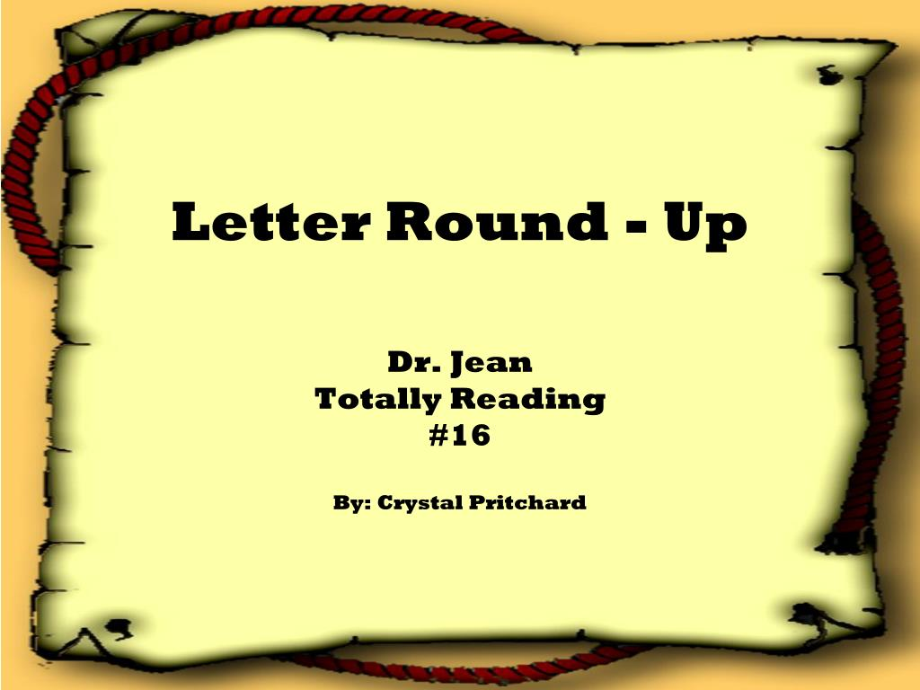 letter round up l.