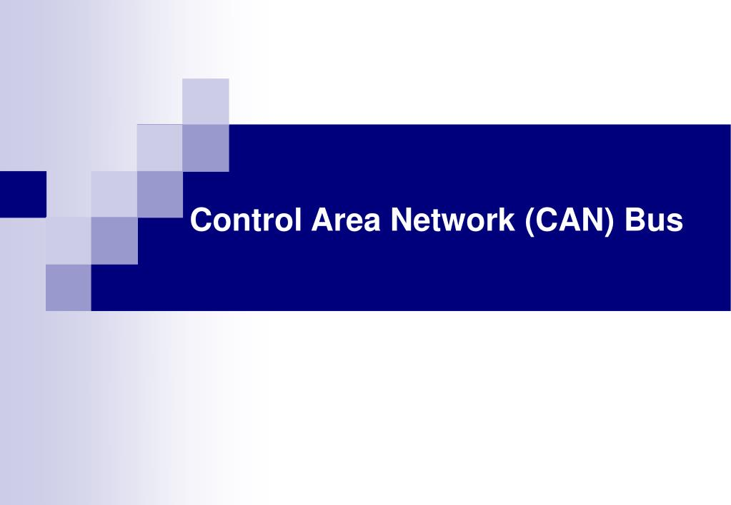 control area network can bus l.