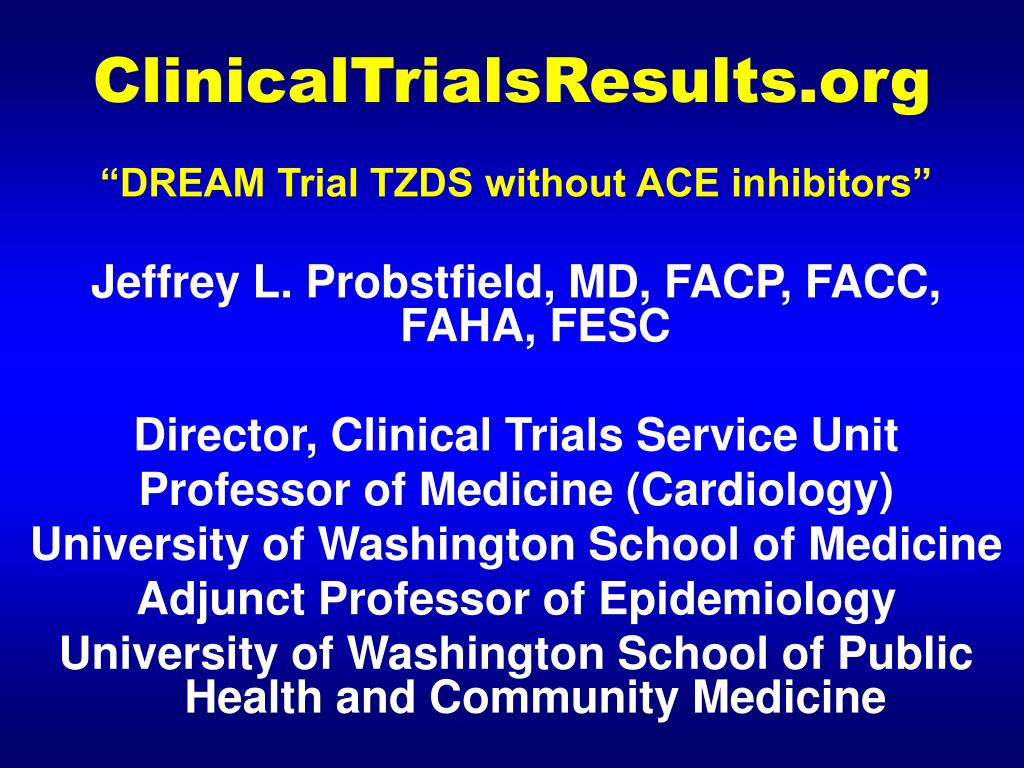 clinicaltrialsresults org l.