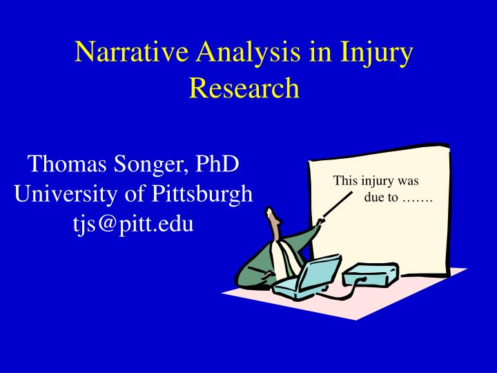 narrative analysis in injury research n.