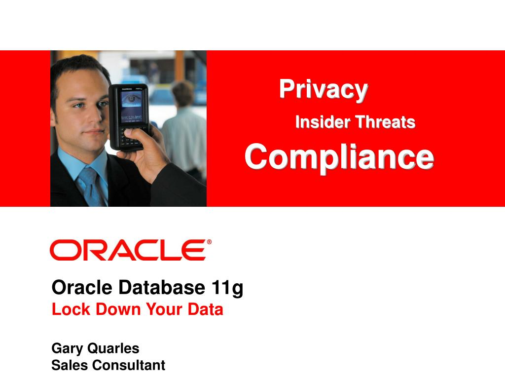 oracle database 11g lock down your data l.