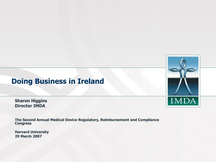 doing business in ireland n.