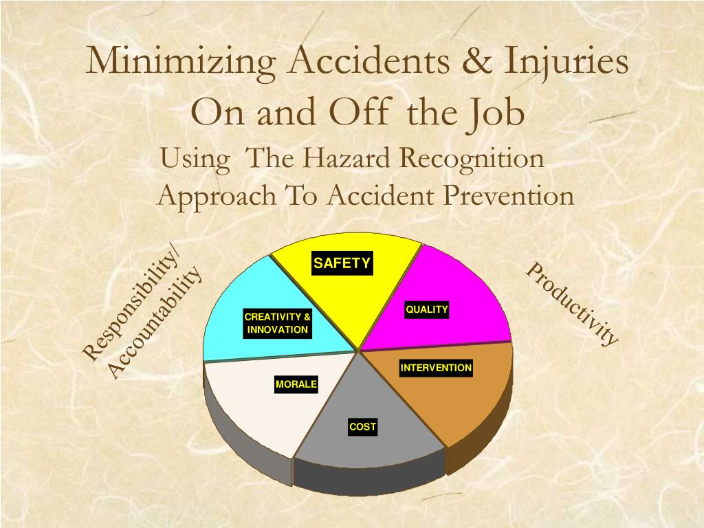 minimizing accidents injuries on and off the job l.