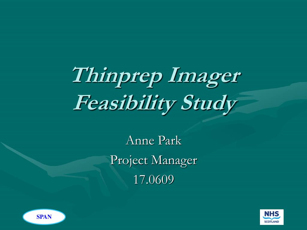thinprep imager feasibility study l.