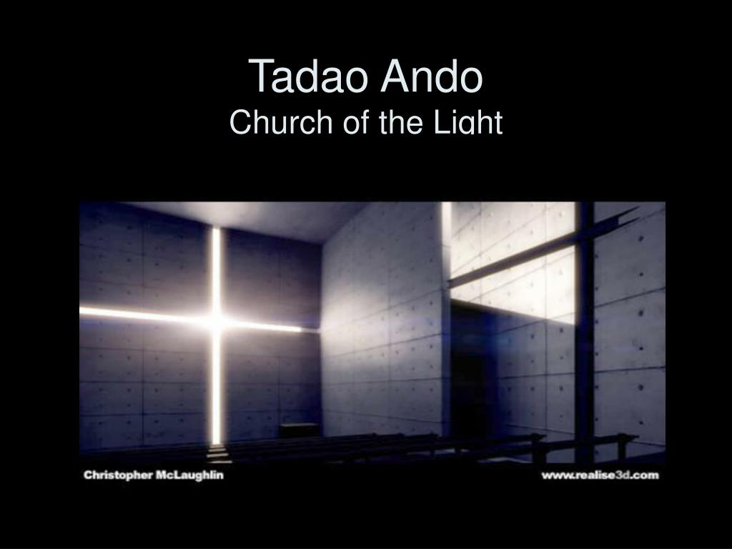 tadao ando church of the light l.
