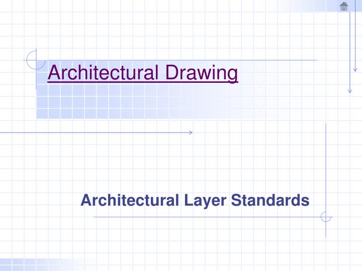 architectural drawing n.