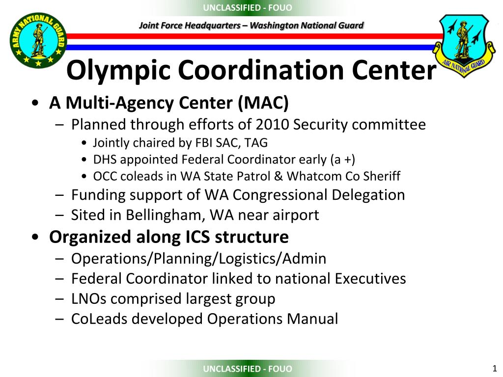 olympic coordination center l.