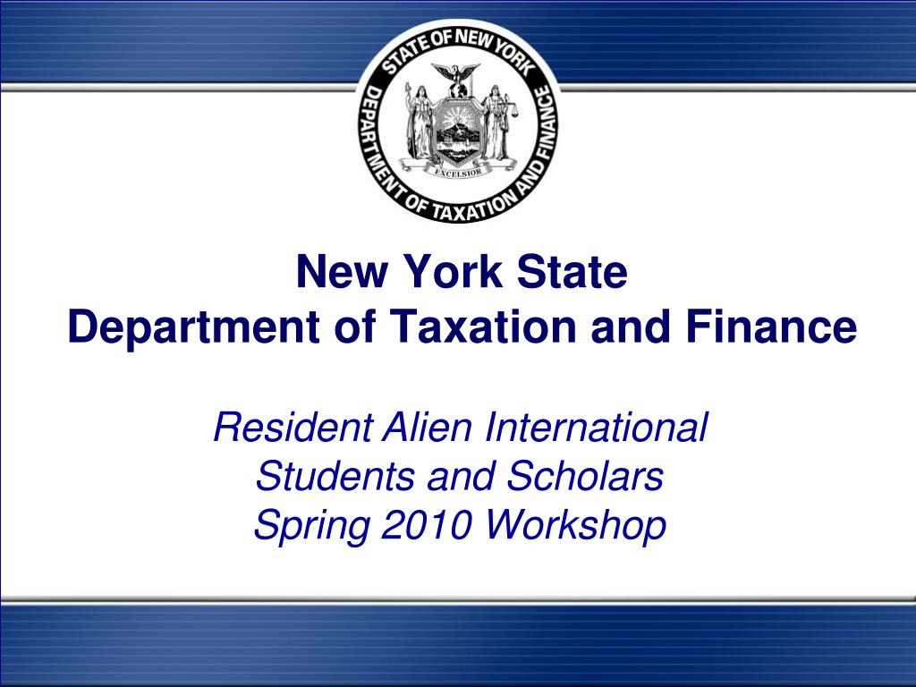 new york state department of taxation and finance l.