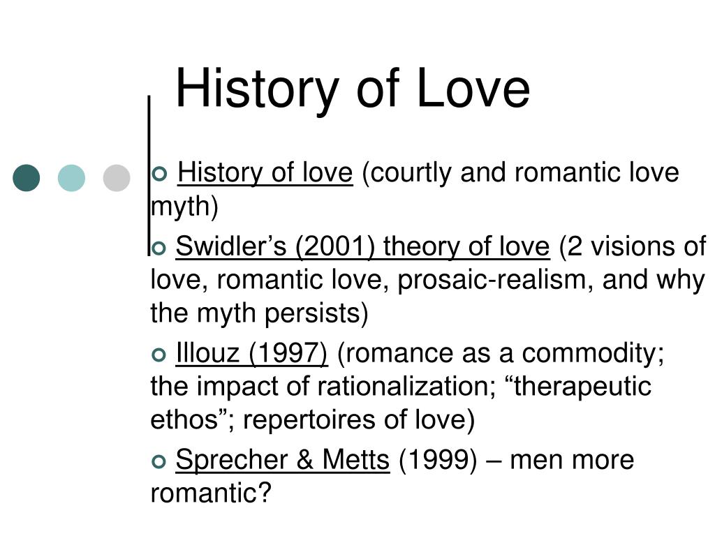 history of love l.