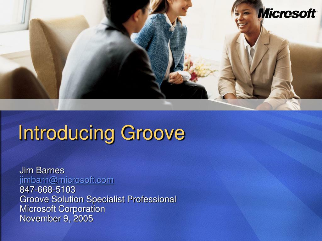 introducing groove l.
