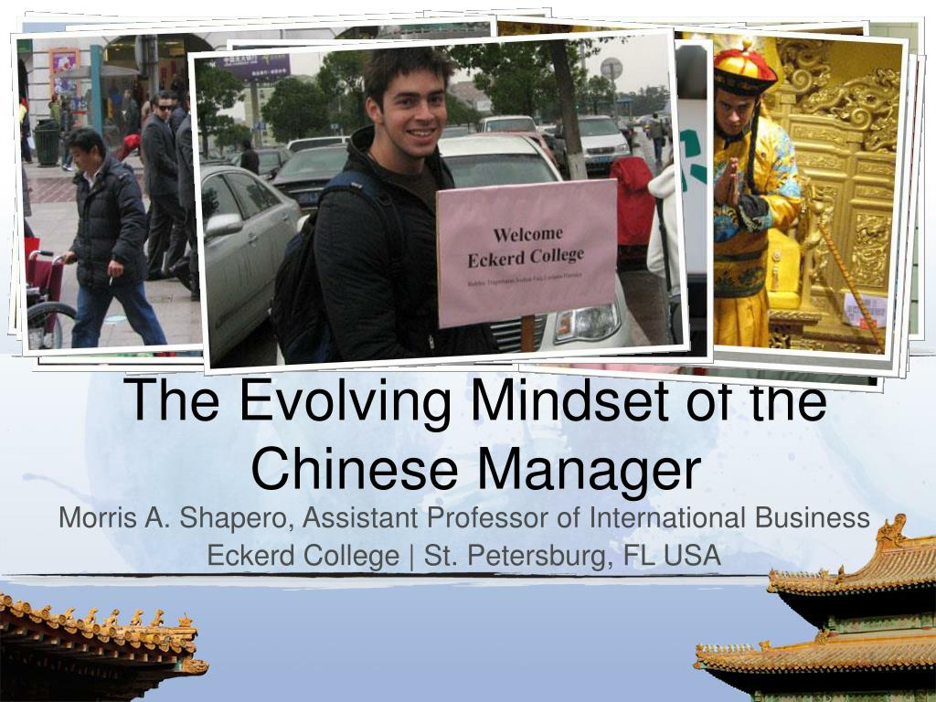 the evolving mindset of the chinese manager l.