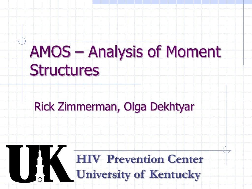 amos analysis of moment structures l.
