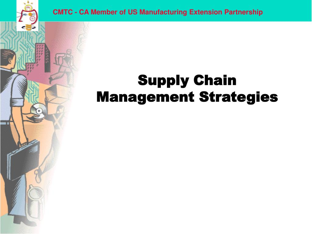 supply chain management strategies l.