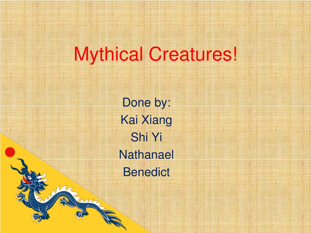 mythical creatures l.