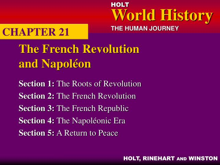 the french revolution and napol on n.