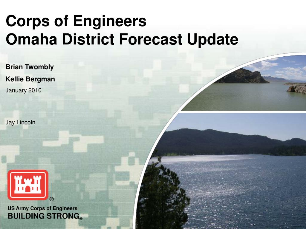 corps of engineers omaha district forecast update l.