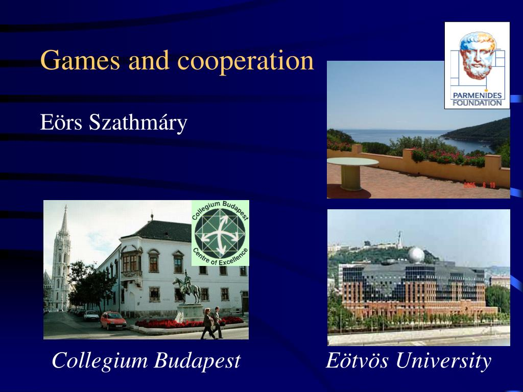 games and cooperation l.