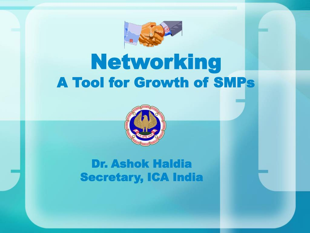 networking a tool for growth of smps l.